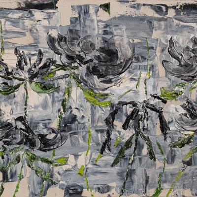 Lucie Hamalainen - Fleurs dans le brouillard