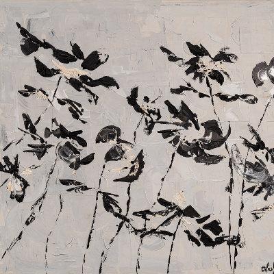 Lucie Hamalainen - Fleurs japonisantes