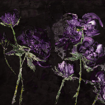 Lucie Hamalainen - Diptyque Roses nocturnes